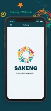 Sakeng App - Welcome